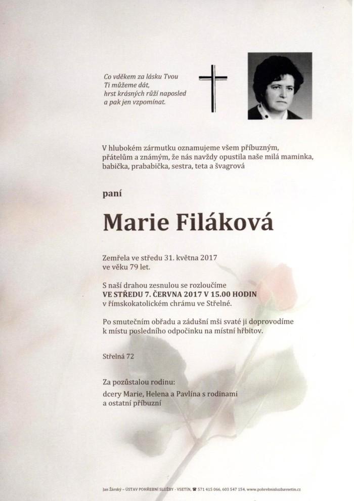 Marie Filáková