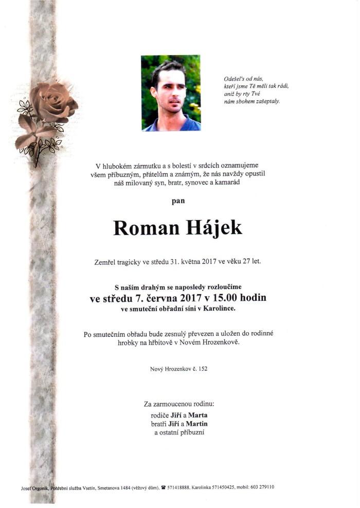 Roman Hájek