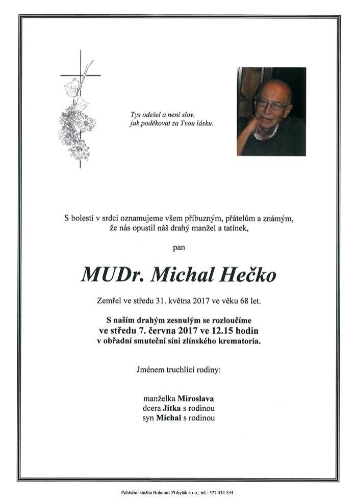 MUDr. Michal Hečko