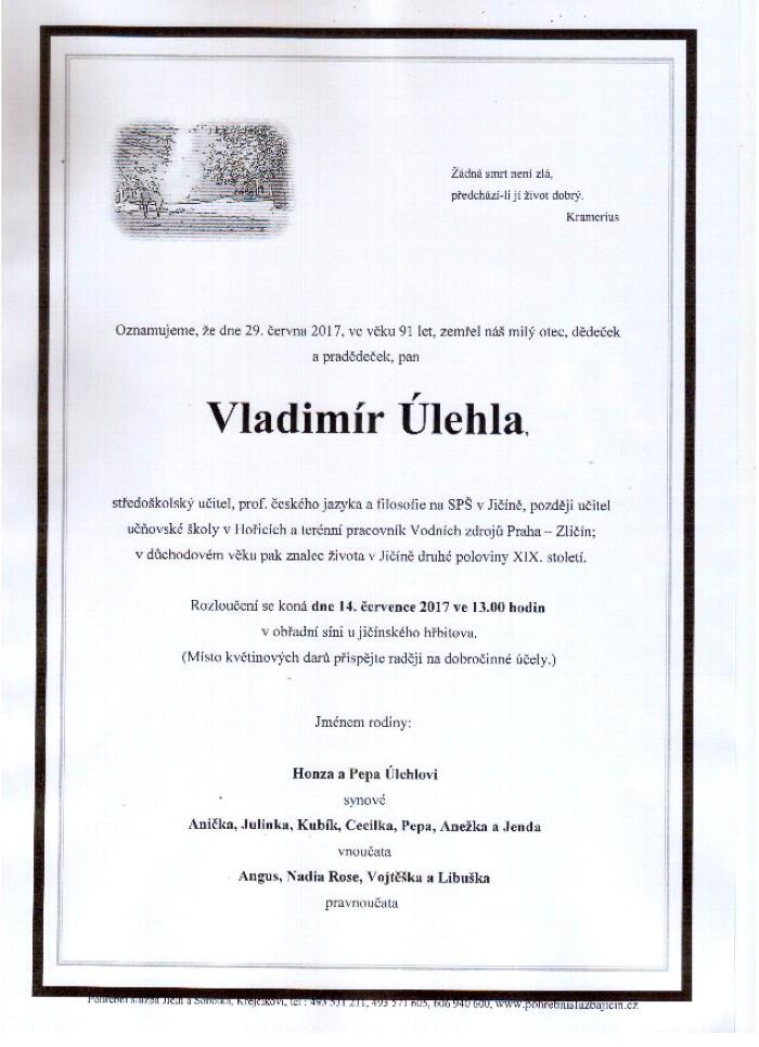 Vladimír Úlehla