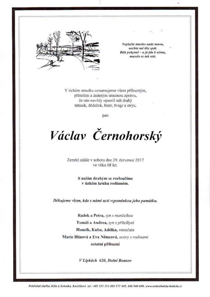 Václav Černohorský