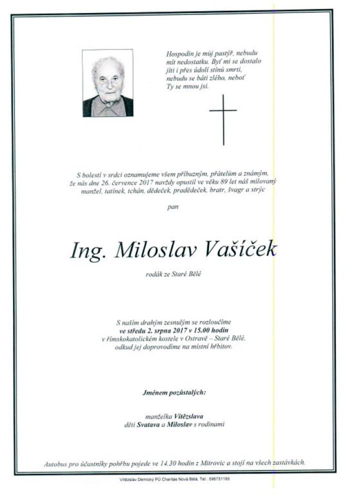 Ing. Miloslav Vašíček