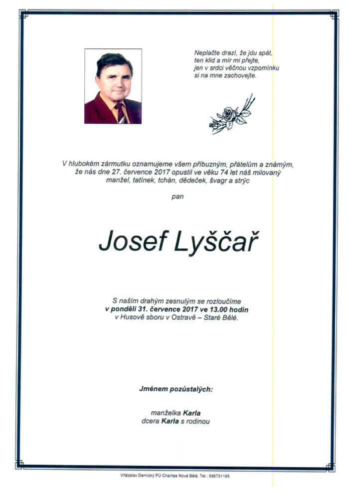 Josef Lyščař