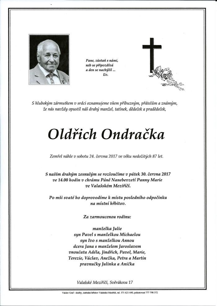 Oldřich Ondračka