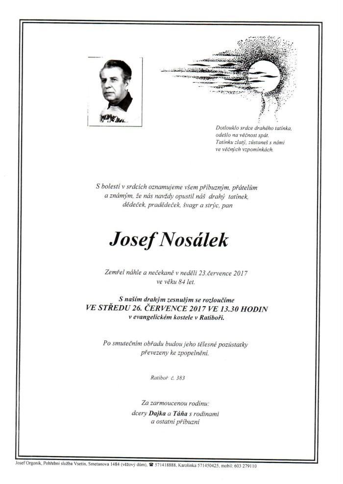 Josef Nosálek