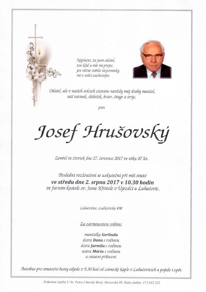 Josef Hrušovský