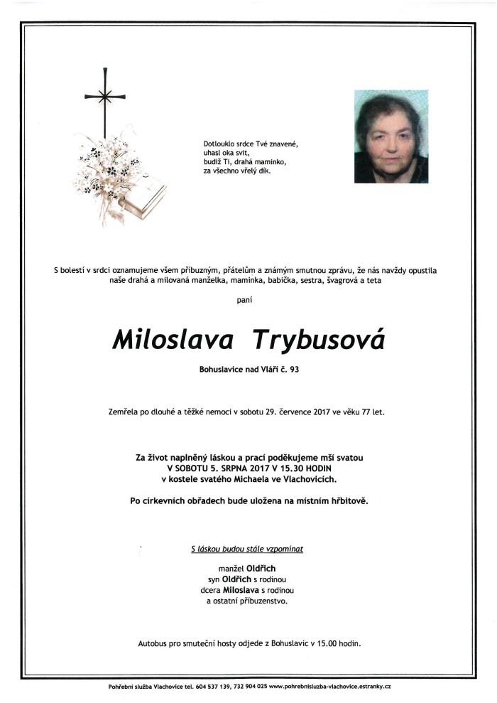 Miloslava Trybusová