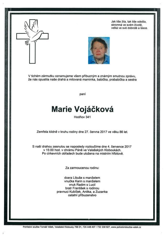 Marie Vojáčková