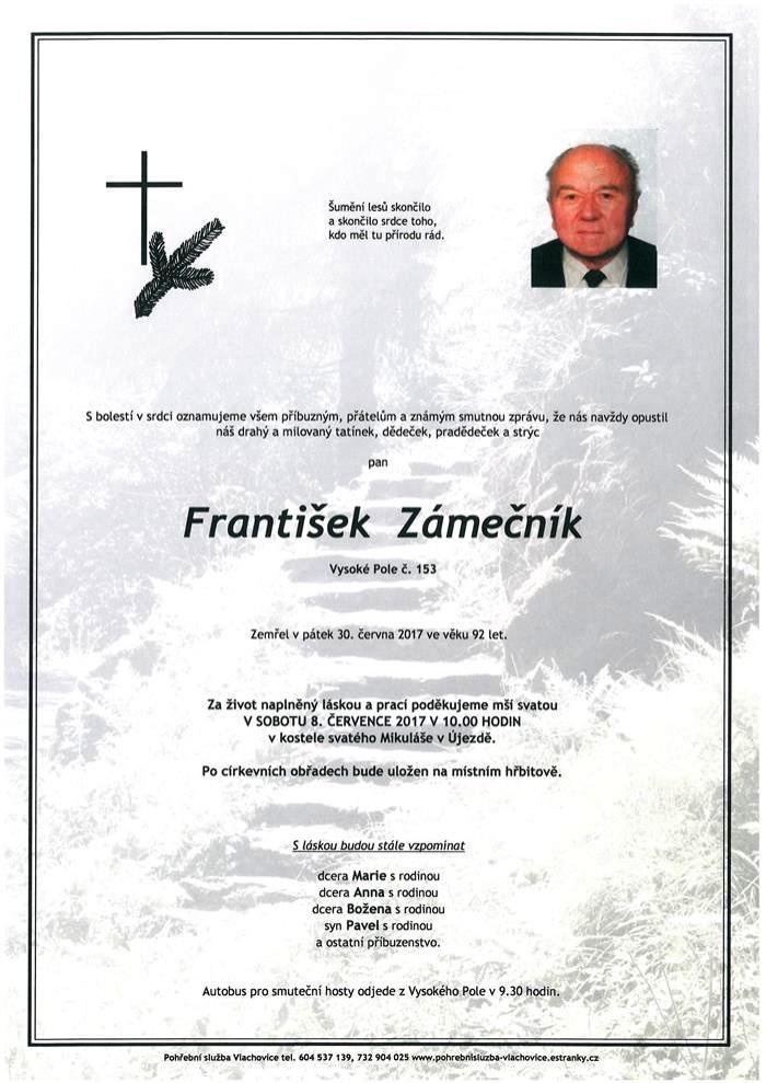 František Zámečník