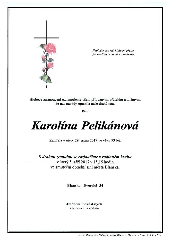 Karolína Pelikánová