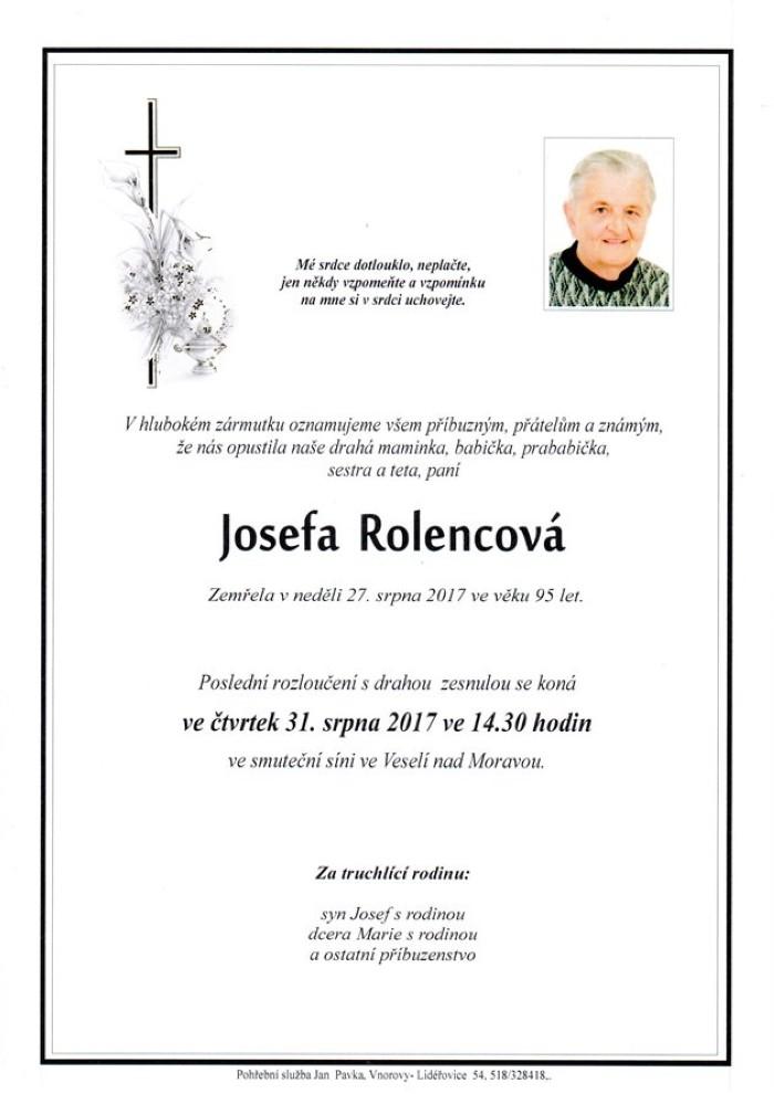 Josefa Rolencová