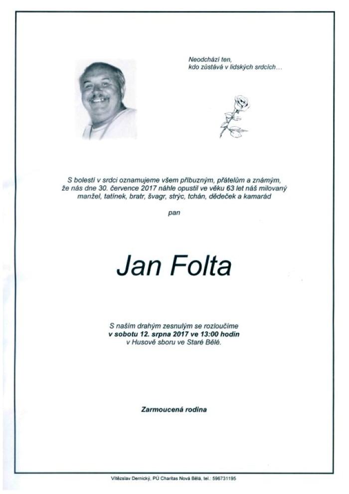 Jan Folta