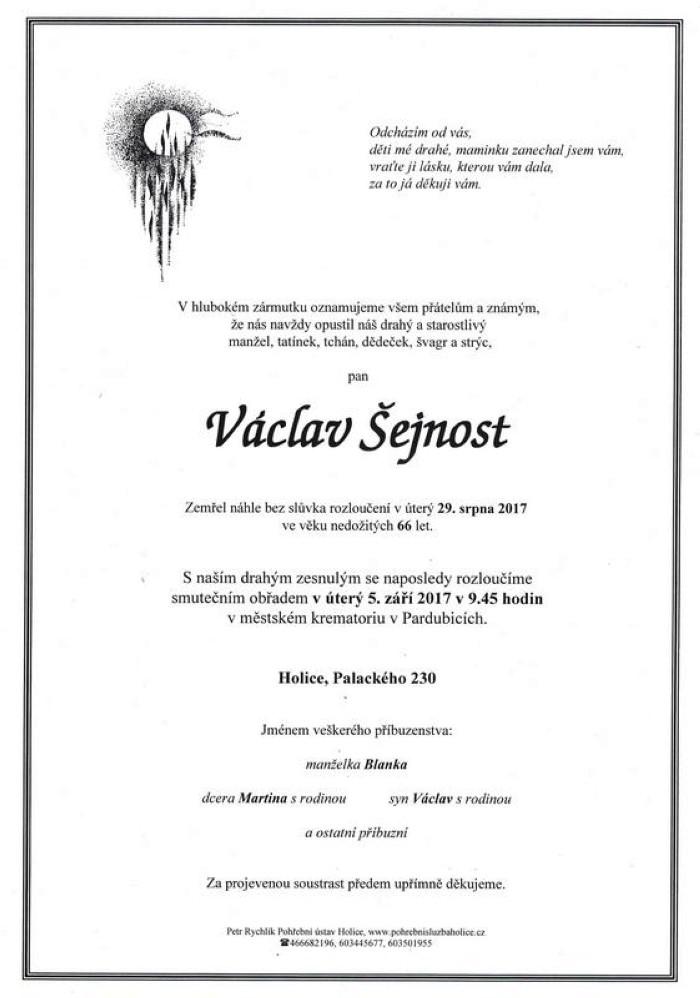 Václav Šejnost
