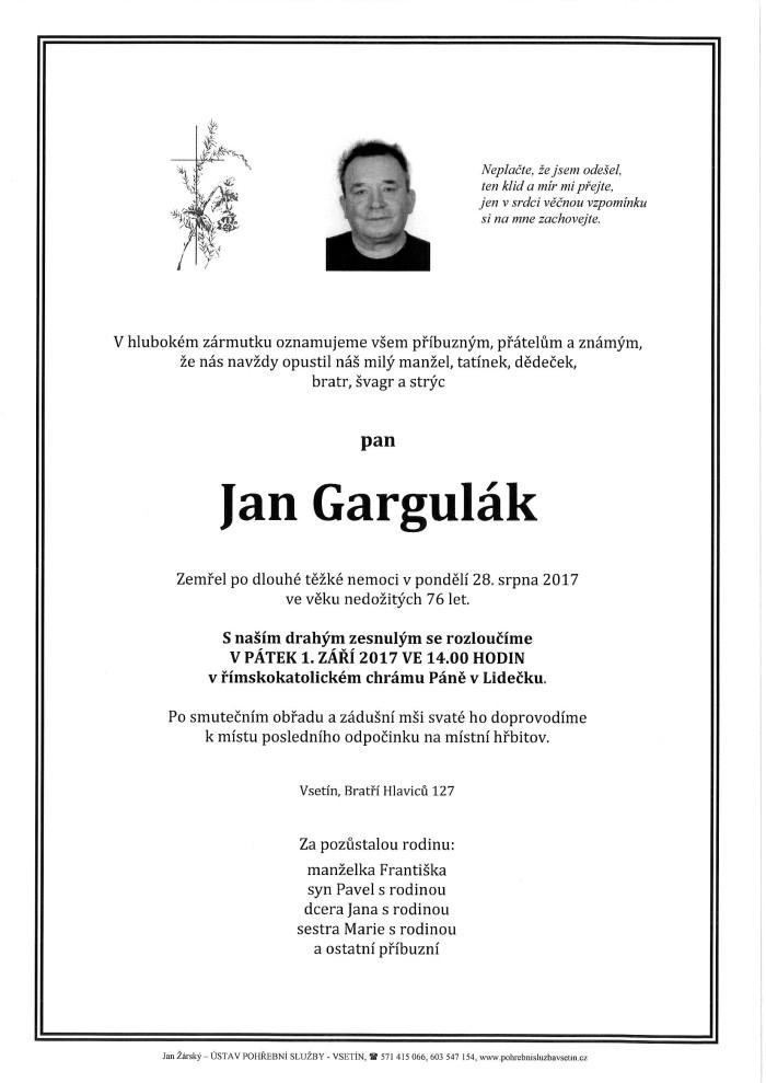 Jan Gargulák