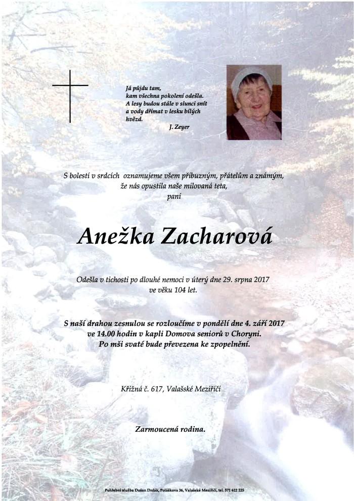Anežka Zacharová