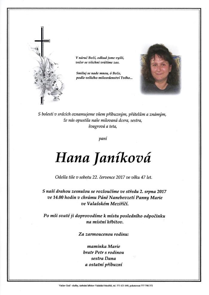 Hana Janíková