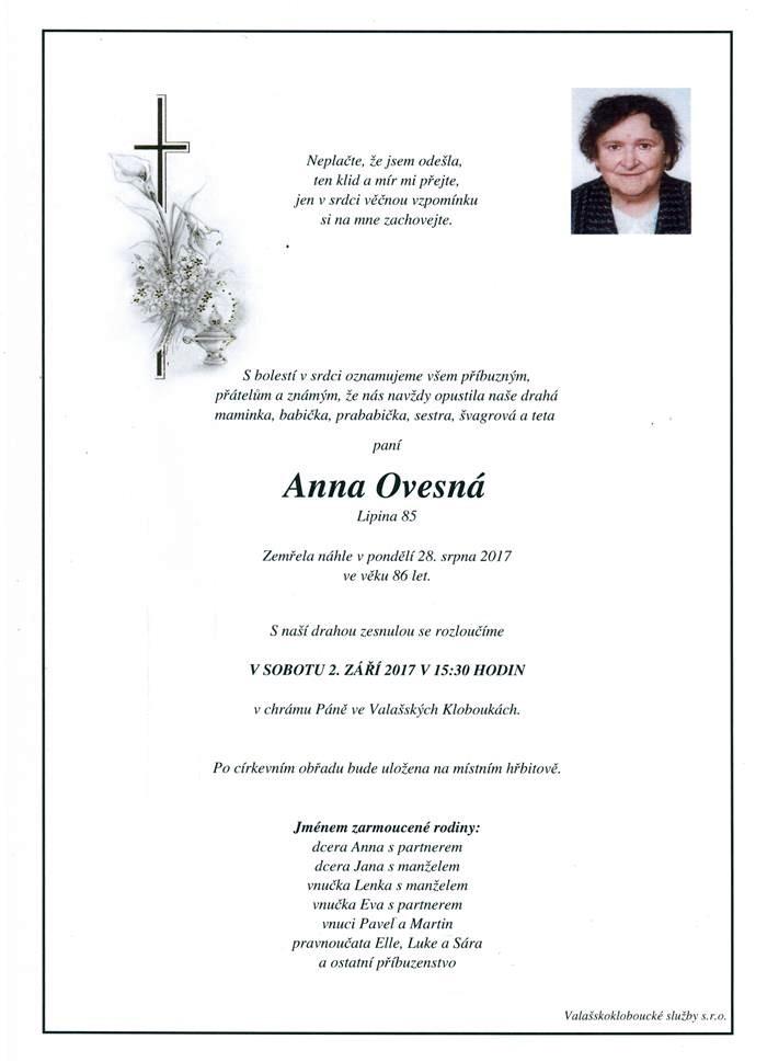 Anna Ovesná