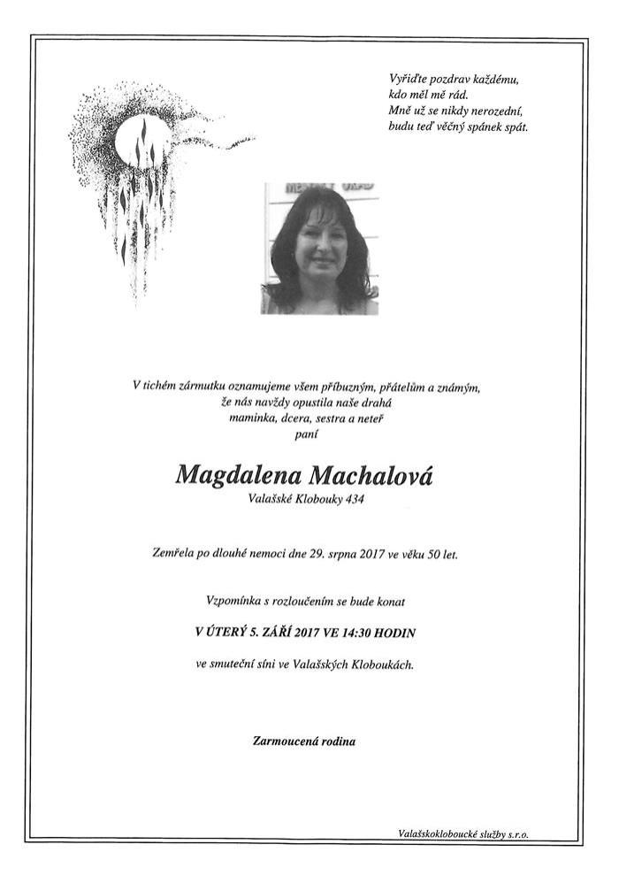 Magdalena Machalová