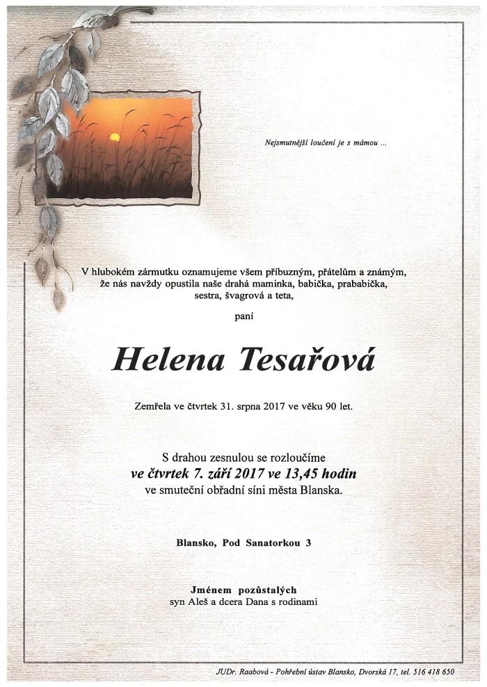 Helena Tesařová