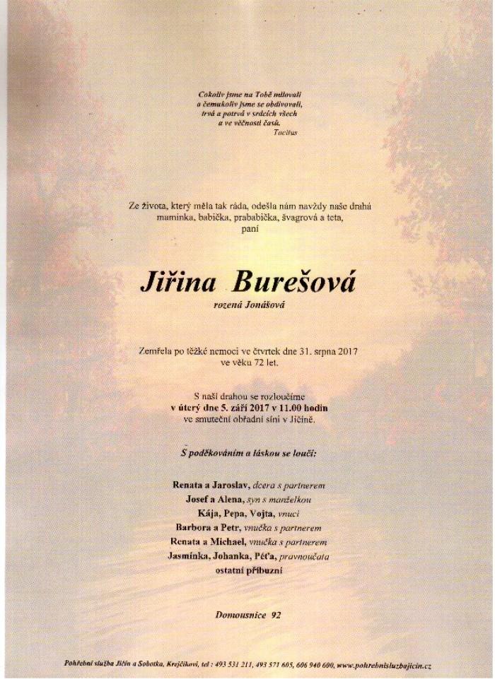 Jiřina Burešová