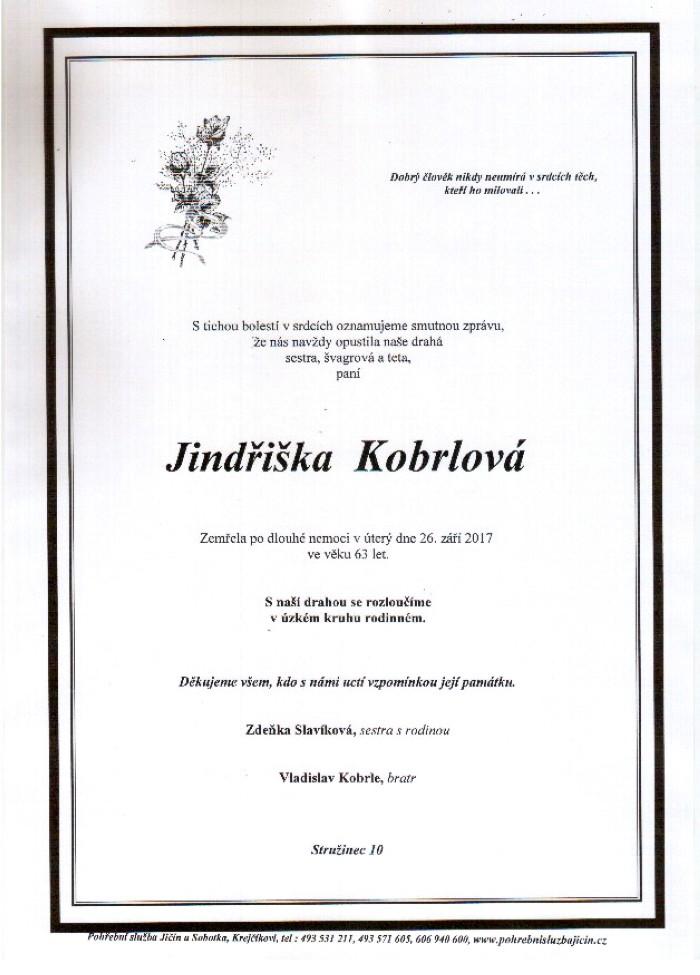 Jindřiška Kobrlová