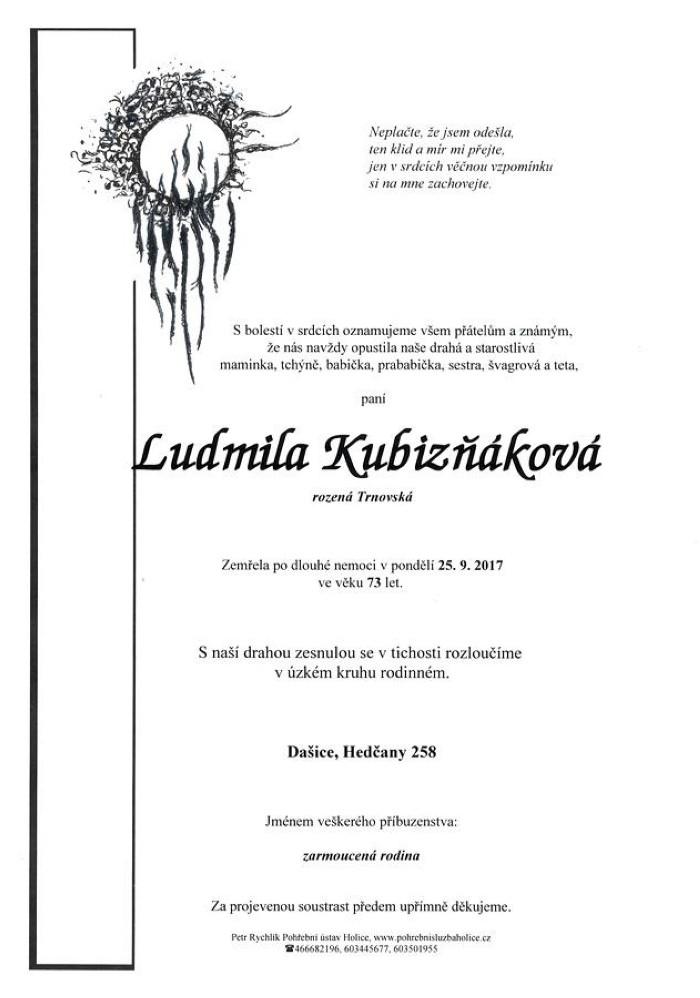 Ludmila Kubizňáková