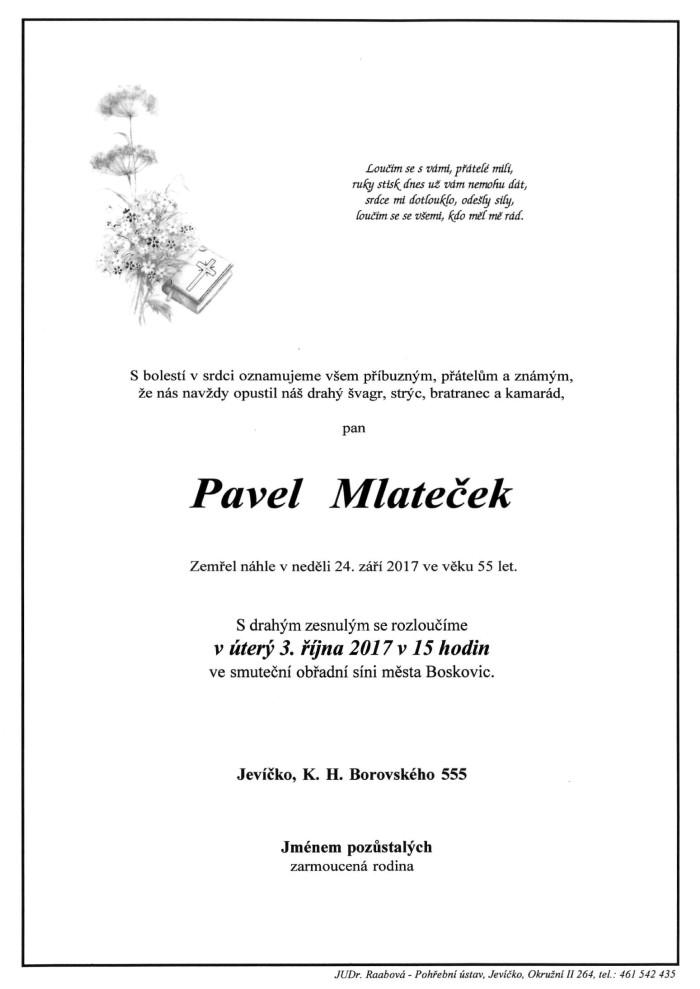 Pavel Mlateček