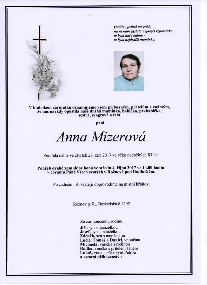 Anna Mizerová