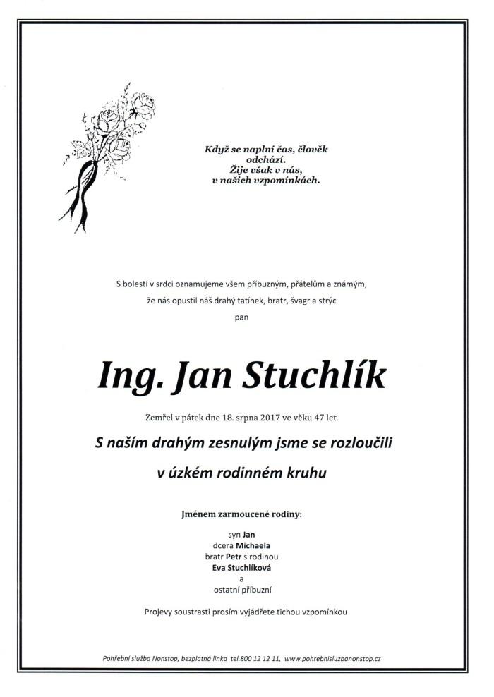 Ing. Jan Stuchlík