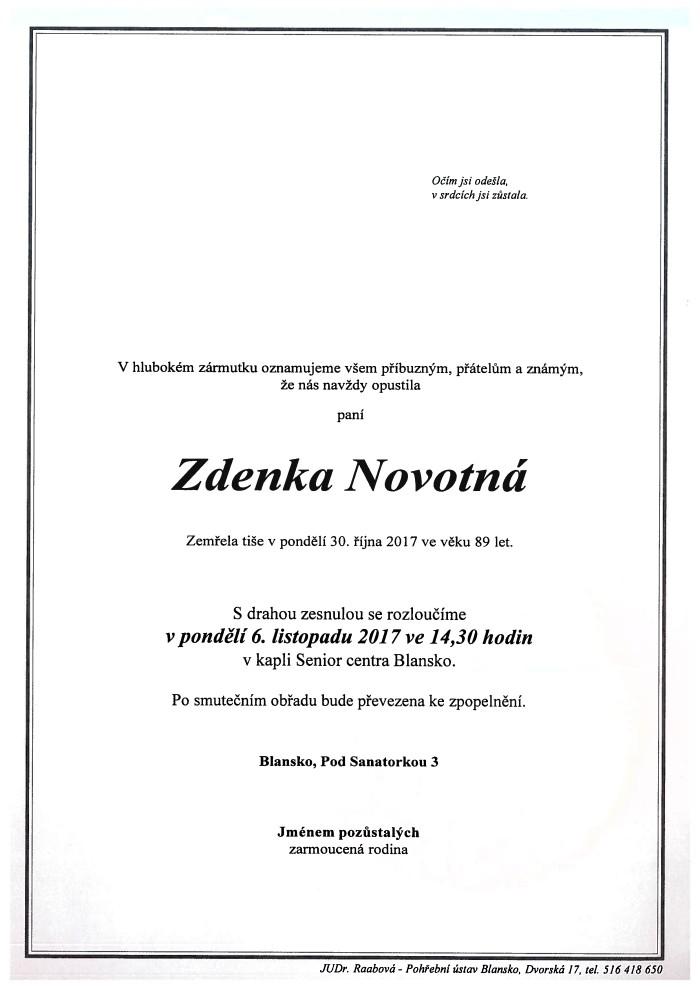 Zdenka Novotná