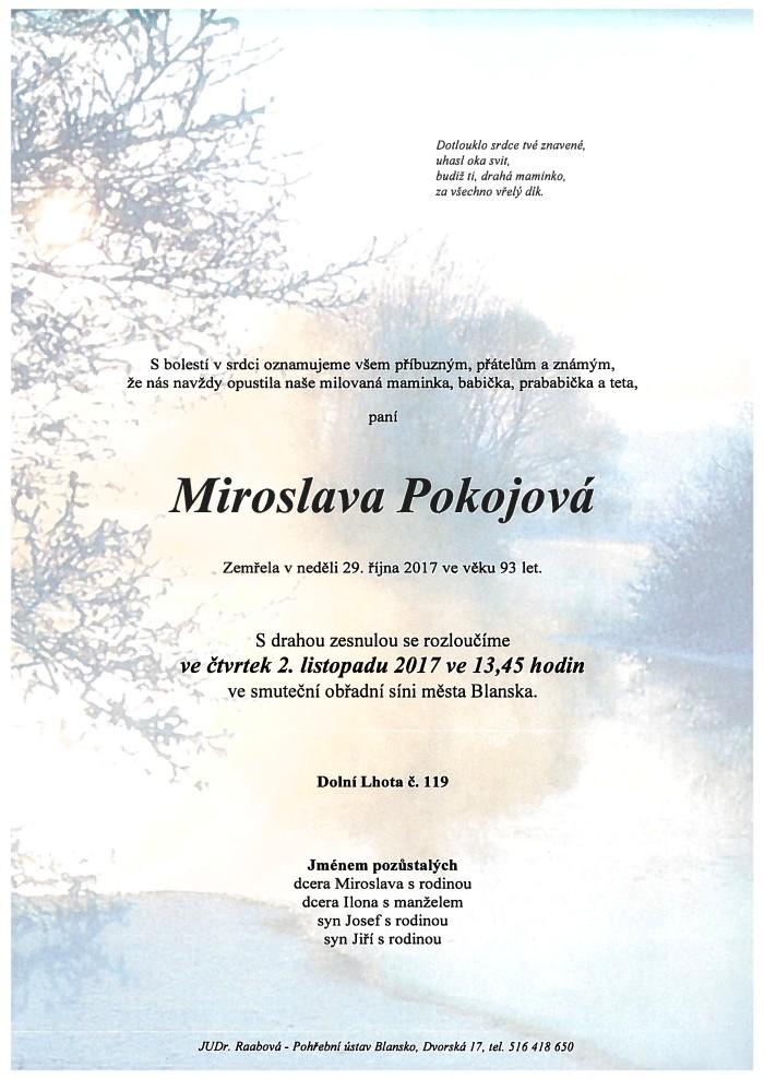 Miroslava Pokojová