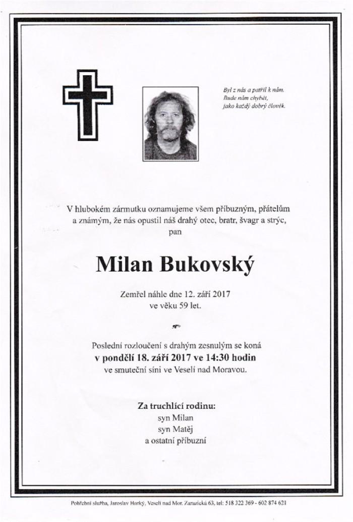 Milan Bukovský