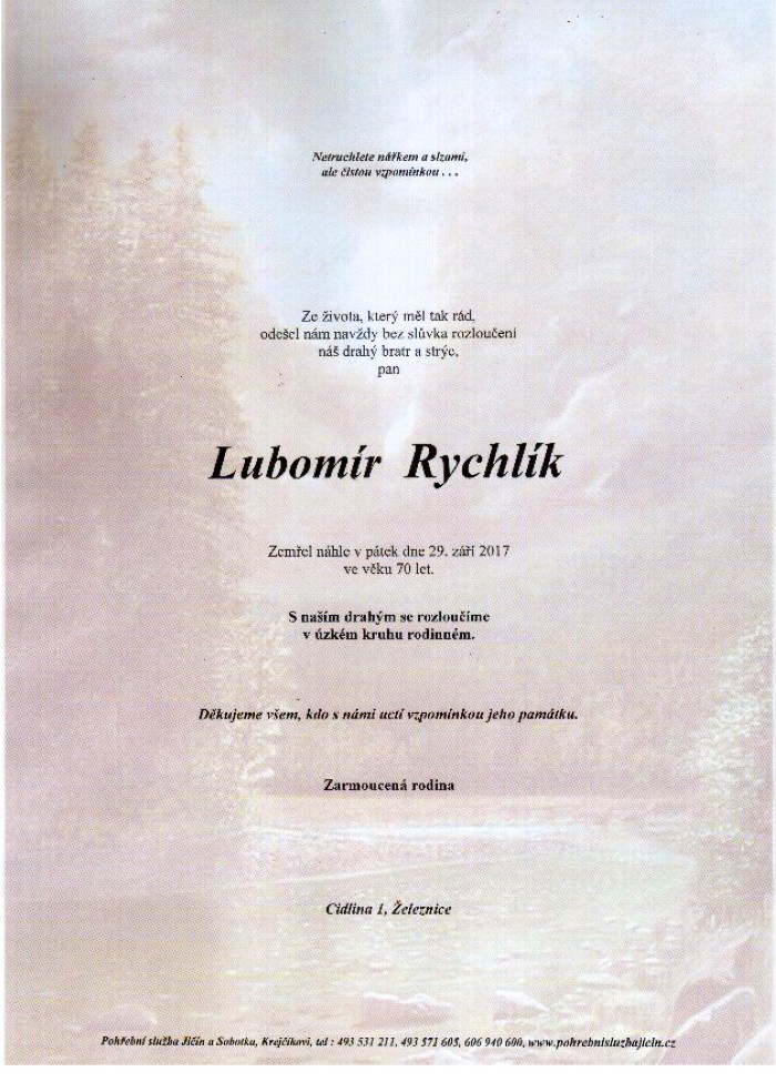 Lubomír Rychlík