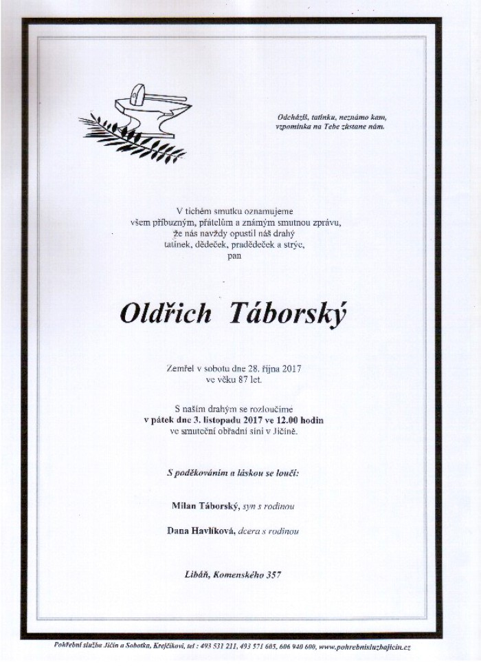 Oldřich Táborský