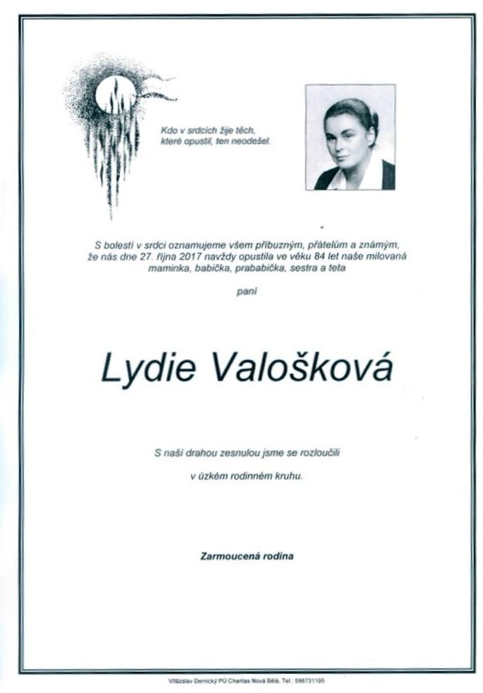 Lydie Valošková