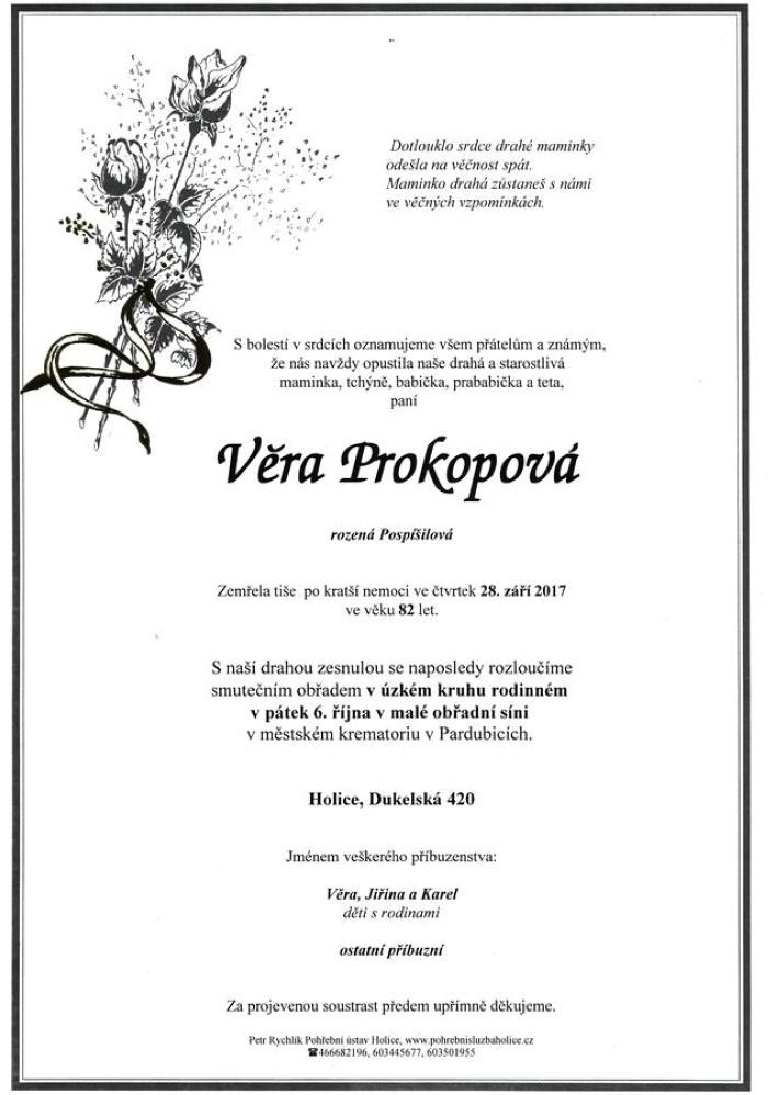 Věra Prokopová