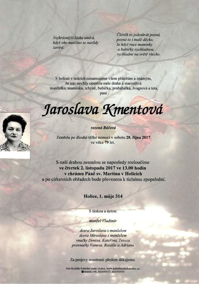 Jaroslava Kmentová