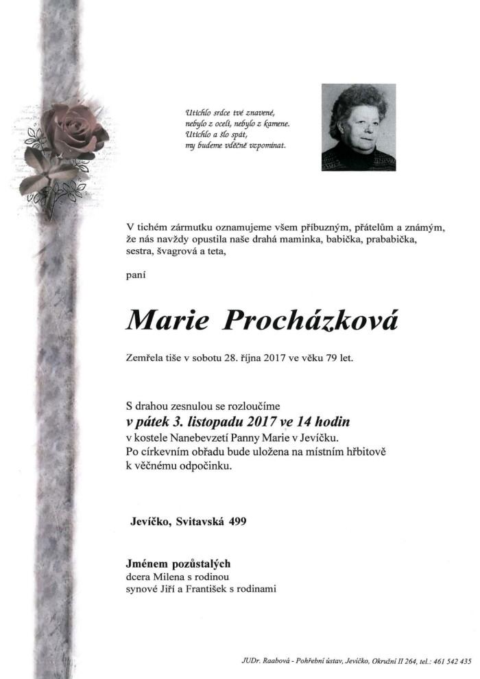 Marie Procházková
