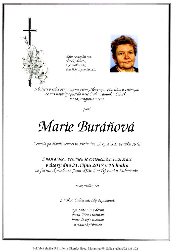 Marie Buráňová