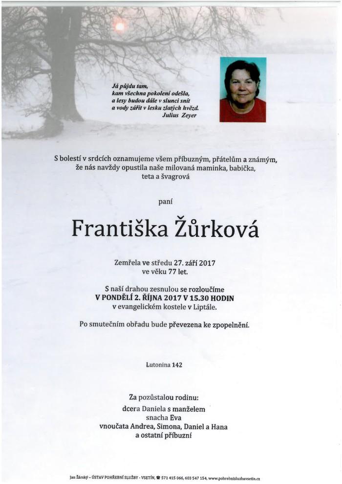 Františka Žůrková