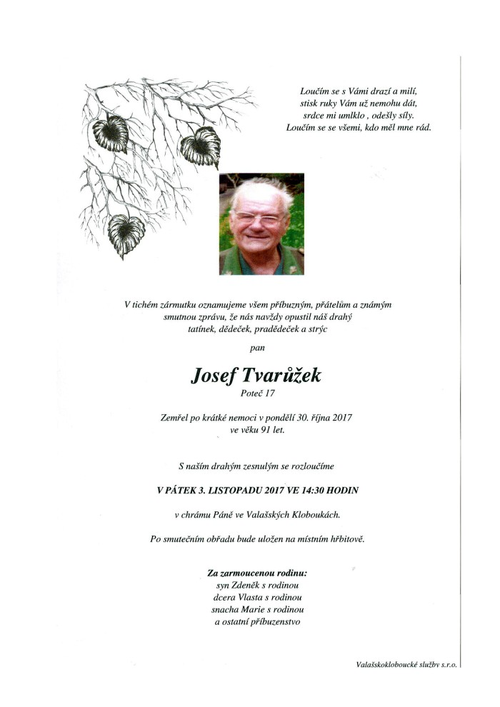 Josef Tvarůžek