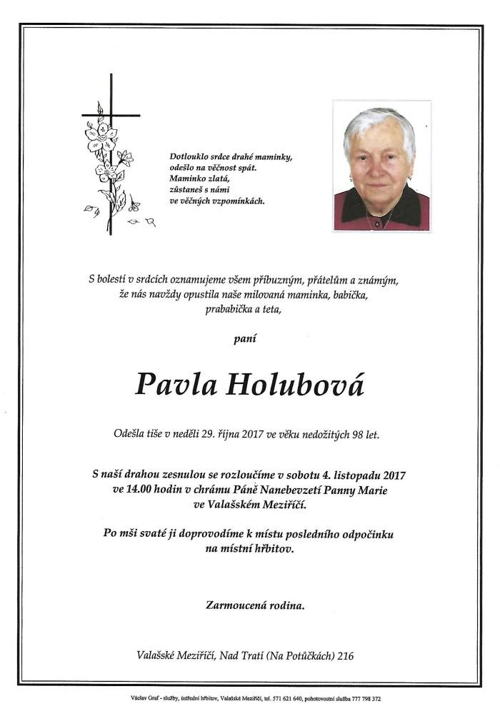 Pavla Holubová