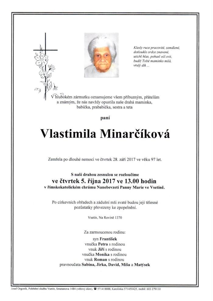 Vlastimila Minarčíková