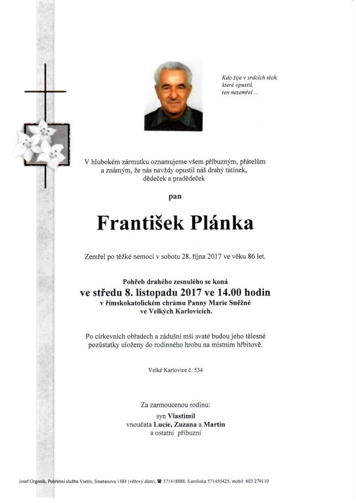František Plánka
