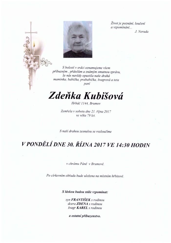 Zdeňka Kubišová