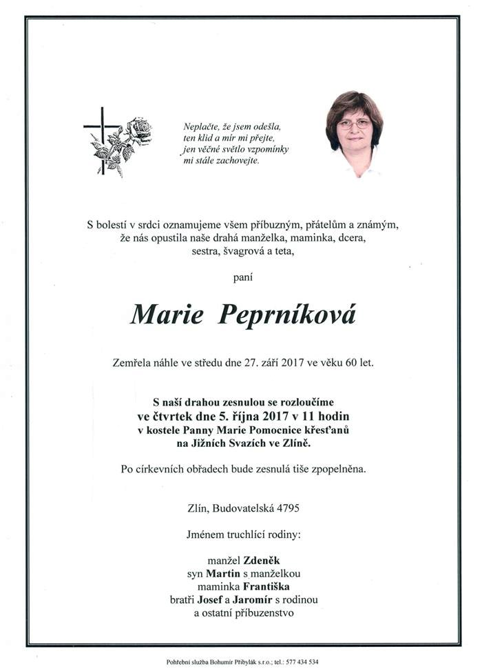Marie Peprníková