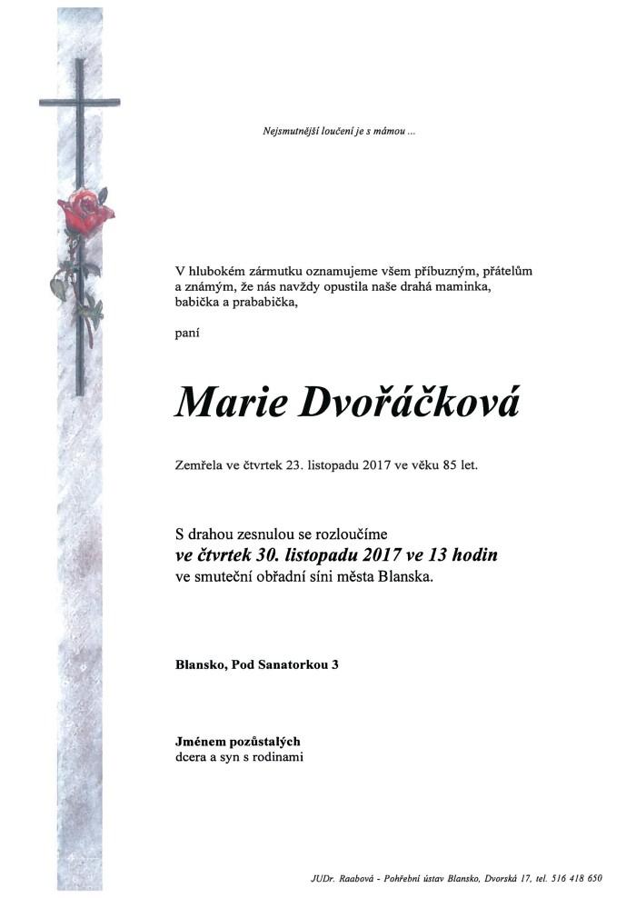 Marie Dvořáčková