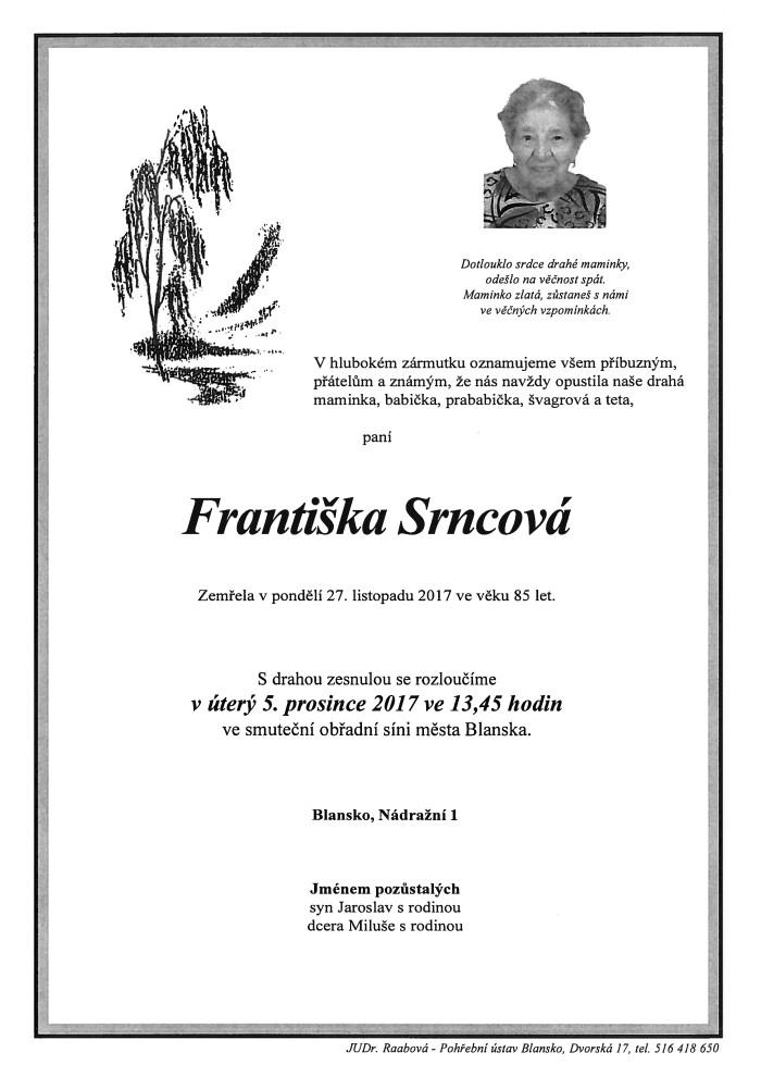 Františka Srncová