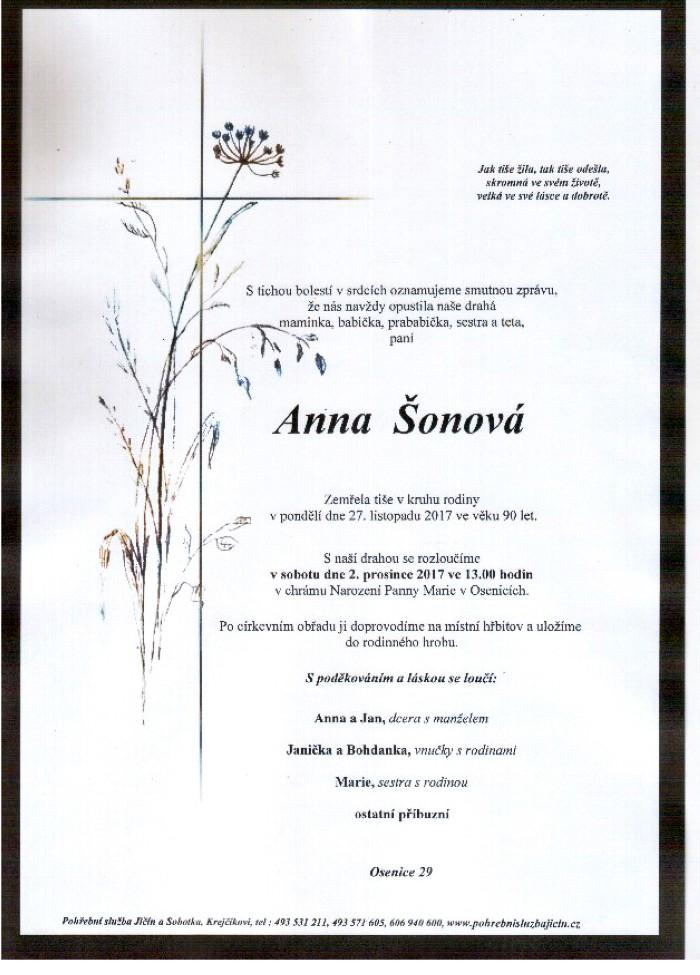 Anna Šonová