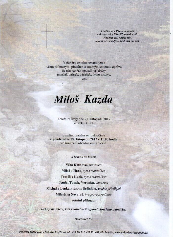 Miloš Kazda